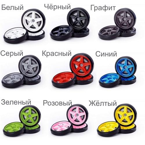 Объемные пластиковые колеса для серии UNO/EVO/NEO (комп. 2 шт.) - фото 11847