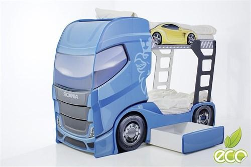 """Кровать-грузовик """"Скания+2"""" - фото 11989"""