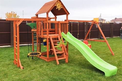 Детская площадка IgraGrad Крафт Pro 4 - фото 12179