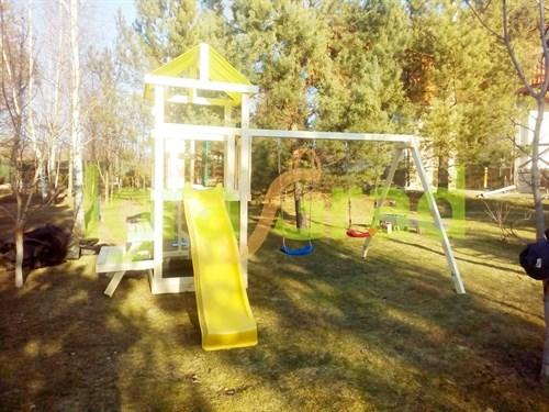 Детская площадка IgraGrad Крафтик со столиком и рукоходом - фото 12193