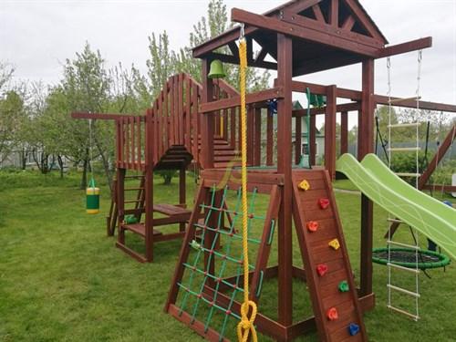 Детская площадка IgraGrad Панда Фани Мостик - фото 12203