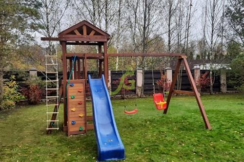 Детская площадка IgraGrad Панда Фани Gride Color - фото 12222