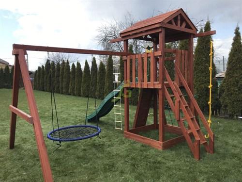 Детская площадка IgraGrad Панда Фани Nest - фото 12228