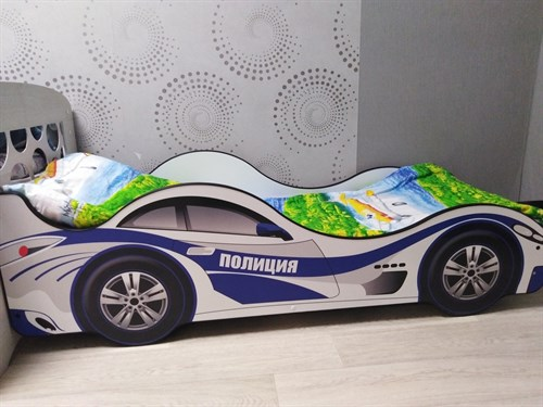 Кровать-машина Полиция Карлсона - фото 13593