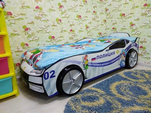 Кровать-машина ТУРБО ПОЛИЦИЯ - фото 13697