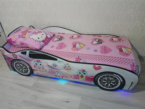 Кровать-машина ТУРБО БЕЛАЯ 2 - фото 13748