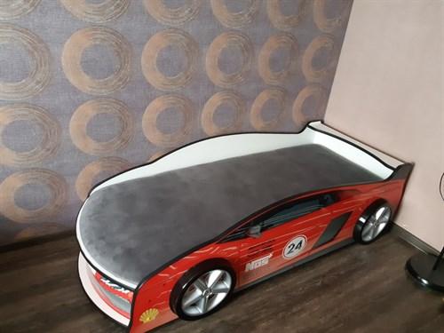 Кровать-машина ЛАМБА КРАСНАЯ - фото 13953