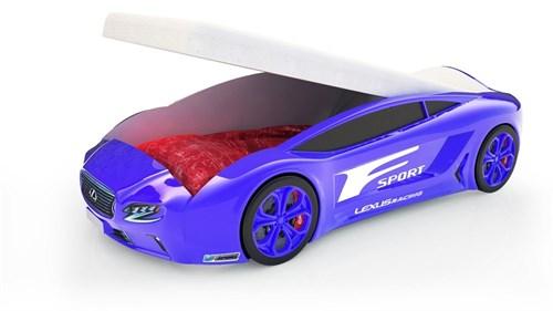 Кровать-машина Roadster «Лексус» с подъемным механизмом - фото 14373