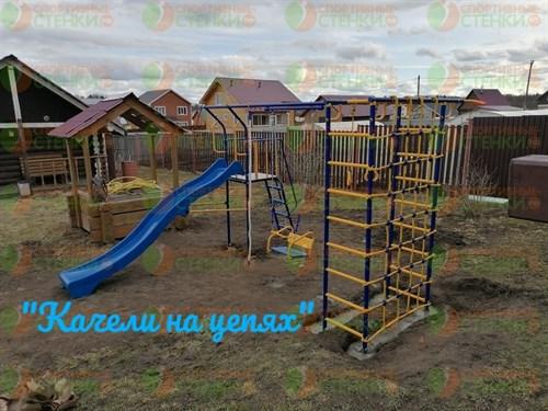 """Уличный комплекс """"Дачник №21 с горкой 3м"""" - фото 9895"""