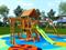 Детская площадка IgraGrad Крафт Pro 4 (скат 2,2) - фото 12172